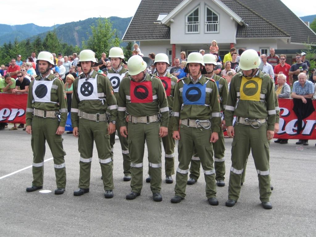 FF St.Andrä – Gruppe 5 holte sich den bronzenen Helm
