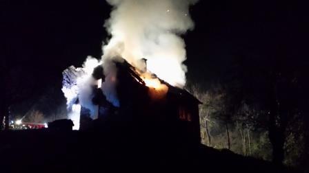 Brandeinsatz in Gönitz