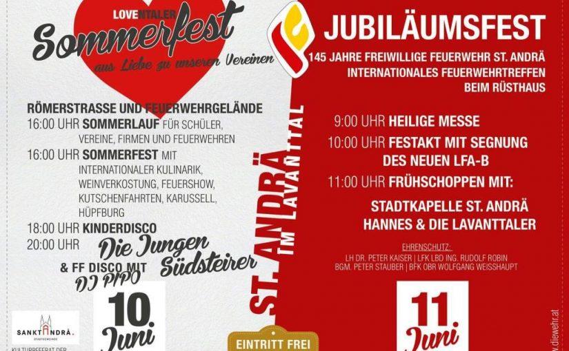 Vereins- und Jubiläumsfest