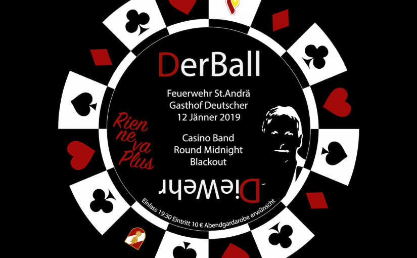 """Feuerwehrball 2019 – """"RIEN NE VA PLUS """""""